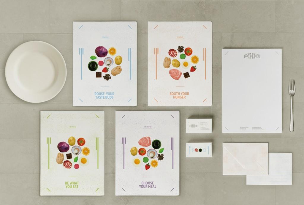 Corporate Design d'un Restaurant © Agence Poppy Jikko