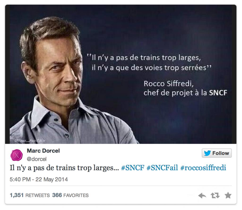 Sifreddi SNCF Dorcel