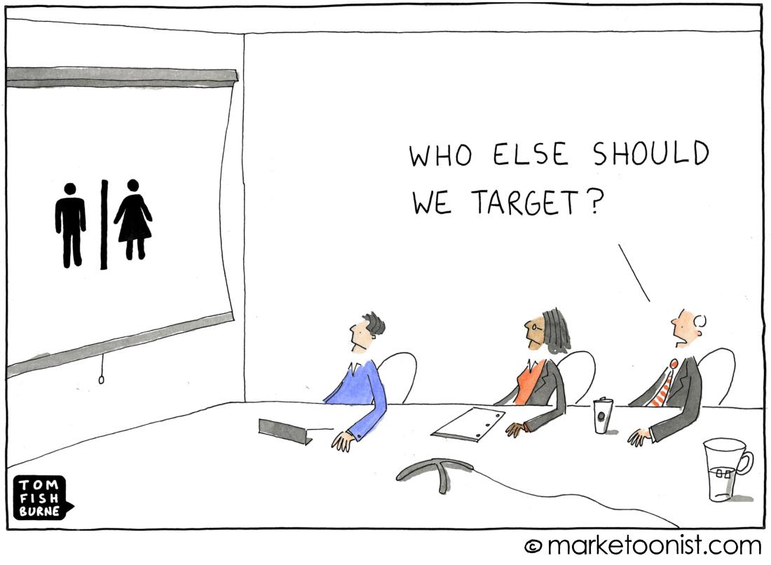 Absence de digital strategy : hommes, femmes ; qui d'autre devrions nous cibler ?