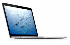 Mac Book Pro Retina, sobre et épuré