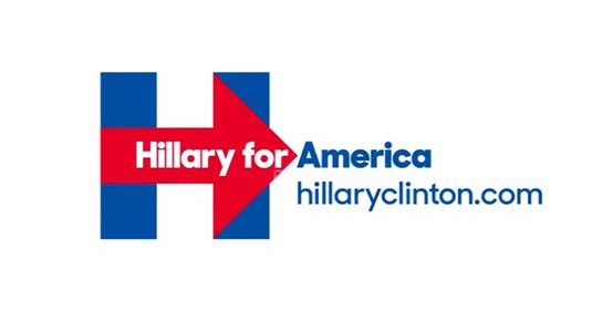 logo hillary for america 2016 campagne