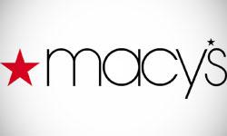 majuscules et minuscules dans un logo macys