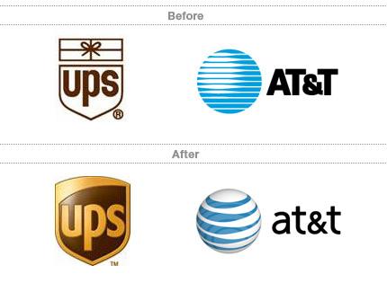 majuscules et minuscules dans un logo